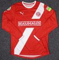 Trikot, Heimtrikot, Saison 2011/2012, Fortuna Düsseldorf, matchworn, DFB-Pokal, Nr. 13, Adam Bodzek, Puma, Bauhaus