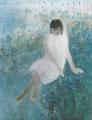 「曄」1983年/150号 日本画(アクリルコーティング キャンパス張り)