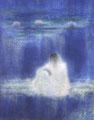 「遙」1981年/150号/日本画 第66回日本美術院展出品