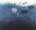 「Waterlily」1989年/100F/アクリル 麻キャンバス