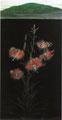 「森の百合」1990年/1090×610/アクリル 麻キャンバス
