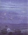 「追憶」1989年/30号/アクリル 麻キャンバス