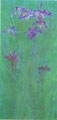 「アイリスⅠ」1994年/1220×590/アクリル 麻キャンバス