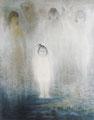 「瑤」1982年/150号/日本画 第67回日本美術院展出品