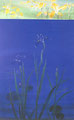 「Irises」1989年/100M/アクリル 麻キャンバス