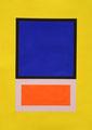 Im Quadrat n°2, 50 x 70 cm