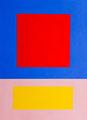Im Quadrat n°5/1, 23 x 31 cm