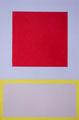Im Quadrat n°13, 2 von 3, 2016, Vinyl auf Bütten, 23 x 31 cm