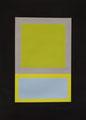 Im Quadrat n°11,, 2016, Vinyl auf Karton, 50 x 70 cm