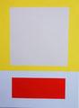 Im Quadrat n°5/3, 23 x 31 cm
