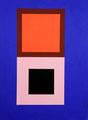 Im Quadrat n°6, 30 x 40 cm