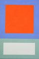 Im Quadrat, 2017_04, Vinyl auf Dibond, 21,5 x 14,3 cm