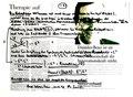 """""""Bewußtsein ist also ein negatives Energiequadrat"""" WVZ 1.607 / datiert 10.07.98 / Filzstift auf Zeitungsblatt (1/2) """"Die Zeit"""" vom 09.07.98 / Maße b 39,2 cm * h 28,3 cm"""