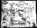 """""""Linoldruck o. T. - Bild 2 aus der Siebener-Serie -"""" Gestringen, den 02.02.1992, Werkverzeichnis 275, Druck auf Papier, b 40,0 cm * 30,0 cm"""