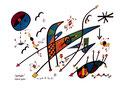 """""""Landschaftern"""" Politisch gesehen Gestringen, 24.10.1993 Werkverzeichnis 363 Textilfarbe auf Aquarellpapier b 40,0 cm * h 30,0 cm"""
