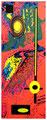 """""""Reibungsveränderungen eines Vierteljahrhunderts III"""" / WVZ 2.214 / datiert 24.07.99 / Fotoveränderung eines beschriebenen Blattes, Tintenstrahldruck a. Papier / Maße b 21,0 cm * h 29,7 cm"""