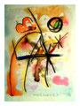 """""""Lassy II"""" 17.12.1994, Werkverzeichnis 443, Aquarell, Bleistift und Kreiden auf Papier, b 30,0 cm * h 40,0 cm"""