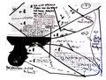 """""""Lebens-, Wachstums- und Altersabschnitt"""" WVZ 1.609 / datiert 11.07.98 / Filzstift auf Zeitungsblatt (1/2) """"Die Zeit"""" vom 09.07.98 / Maße b 39,2 cm * h 28,3 cm"""