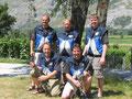 Gruppe Bärgler am Walliser Kantonalschützenfest