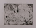 """blue and so on / drypoint, etching on paper 2013 / image size : 7 x 10cm(aprx. 6"""" x 10"""")"""