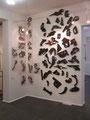 """Ein Fragment der Gesammtausstellung """"Kulibin""""aus dem Projekt """"Schokoladenrevolution"""", Krokin Galerie, Moskau"""
