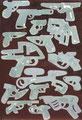 """""""Kontraform"""", 2007, Öl auf Leinwand, 150x100 cm"""