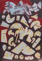 """Modell"", 2007, Öl auf Leinwand, 150x100 cm"