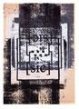 Schulblatt 170 ([...] [sic] 16), Mischtechnik auf Papier, 29,7 x 21,0 cm, 2013