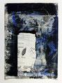 Schulblatt 096 (Ohne Titel - Fenster 05), Mischtechnik auf Papier, 29,7 x 21,0 cm, 2012