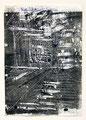 Schulblatt 127 (Ohne Titel - Urban Studies 08), Mischtechnik auf Papier, 29,7 x 21,0 cm, 2012