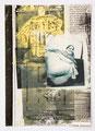 Schulblatt 177 (Ohne Titel), Mischtechnik auf Papier, 29,7 x 21,0 cm, 2014