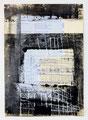 Schulblatt 130 (Ohne Titel), Mischtechnik auf Papier, 29,7 x 21,0 cm, 2012