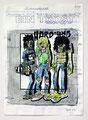 Schulblatt 048 (Ein Trost 04), Mischtechnik auf Papier, 29,7 x 21,0 cm, 2011