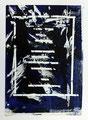 Schulblatt 093 (Ich Will Keine Tapete), Mischtechnik auf Papier, 29,7 x 21,0 cm, 2012