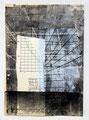 Schulblatt 132 (Ohne Titel), Mischtechnik auf Papier, 29,7 x 21,0 cm, 2012