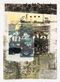 Schulblatt 178 (Ohne Titel), Mischtechnik auf Papier, 29,7 x 21,0 cm, 2014