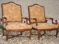 Régence 2 - Paire de fauteuils