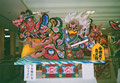 2008(平20)年 青森ねぶた祭後継者育成事業「ミニねぶた」 「牛若丸と烏天狗」