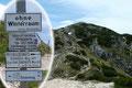 """Fotoshooting abgeschlossen, die Canon weggepackt – schlenderten wir in der Mittagssonne dem Arnoweg (in der Bergsteigersprache """"Autobahn"""") zum nächsten Gipfeldach entlang."""