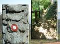 Flotten Schrittes, noch voller Elan setzte ich zwischen dem alten Steingemäuer und dem Holzgeländer meine erste Kroatien-Wanderung  fort.