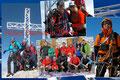 Extreme Glücksgefühle, … Freude … und bei einigen ein erleichterndes Lachen über das gesteckte und erreichte Ziel vermittelte das Gipfelbild beim Abdrücken. GRATULATION an alle!!! Berg Frei!