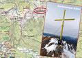 Also stieg auch ich mit der notwendigen Trittsicherheit zum Gipfelkreuz hinüber. BERG FREI! Für einen Wanderer ist es absolut machbar, für einen erfahrenen Berggeher stellt es keinerlei Problem dar!