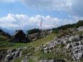 Als wir diese erreicht hatten bot sich uns ein atemberaubender Blick auf den zum Greifen nahen Hohen Dachstein.
