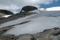 Bereits wenige Minuten später erwartete uns der erste Gletscherkontakt.