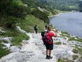 Der Wildensee. Einer meiner absolut schönsten Orte in unserer Bergwelt. Auch Andi und Tom die noch nie hier waren, waren restlos begeistert davon.