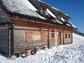 Die Schaumberg Jagdhütte ist im Sommer sogar bewirtschaftet.