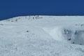 Step by Step, Kehre um Kehre watschelten wir im gemächlichen Tempo dem 2093m hohen Gipfelziel entgegen.