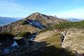 Wunderschön und aussichtsreich zog sich der Höhenkammweg in einem leichten berauf und bergab über den kupierten Kamm zwischen Johnsbachtal und Paltental entlang.