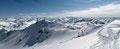 Aus südlicher Richtung, etwa 1km Entfernung lachte die Aleitenspitze (2449m) zu uns herüber. Es wurlte förmlich in meinem Körper, doch keiner wollte die Stippvisite mitmachen, also sah ich auch davon ab und …