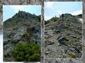 Und wie sollte es auch anders sein. Nach dem runter kam wieder das rauf in Form von ca. 100 Höhenmetern.